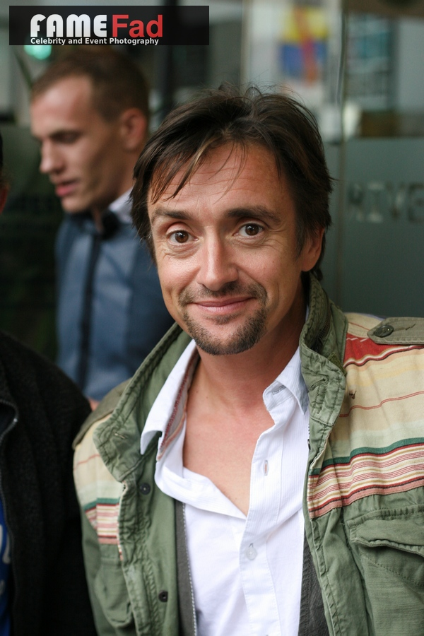 Richard Hammond arrives at Hammersmith Studios in Central London