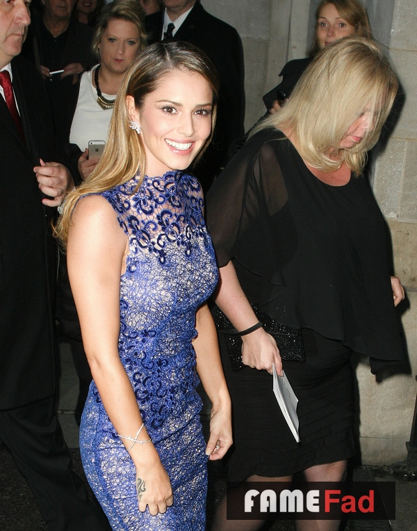 Cheryl Fernandez Versini arrives at the 2014 Pride of Britain Awards at the Grosvenor House Hotel in central London on 6 October 2014. Arrival and Candid Photos. Part 2