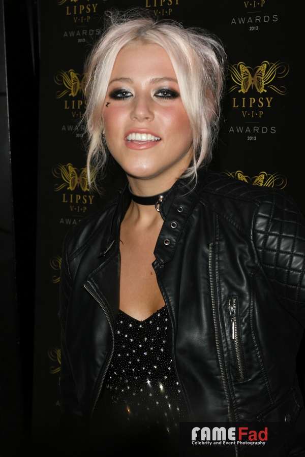 Amelia Lily at the 2013 Lipsy VIP Awards, London